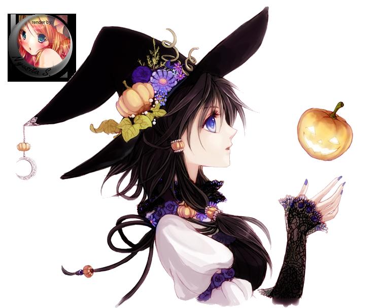 Anime Girl Render by Nyusita-Shinigami