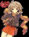 Yuki Nagato Render