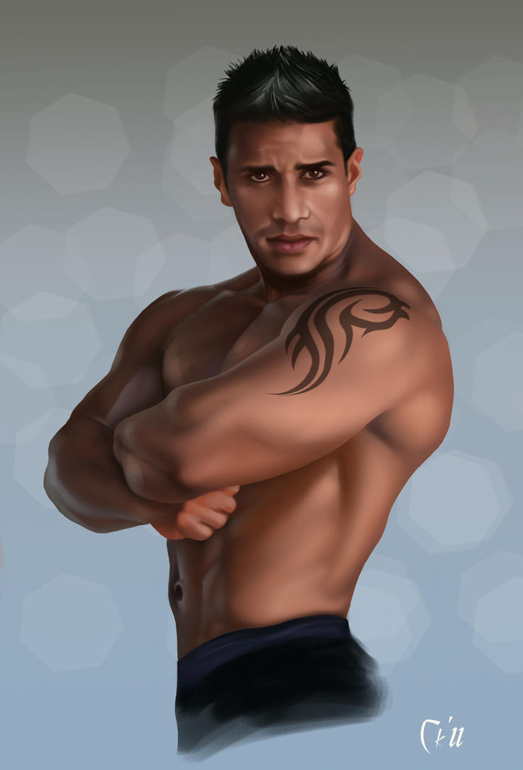 Latino Model Man by MaleArtist