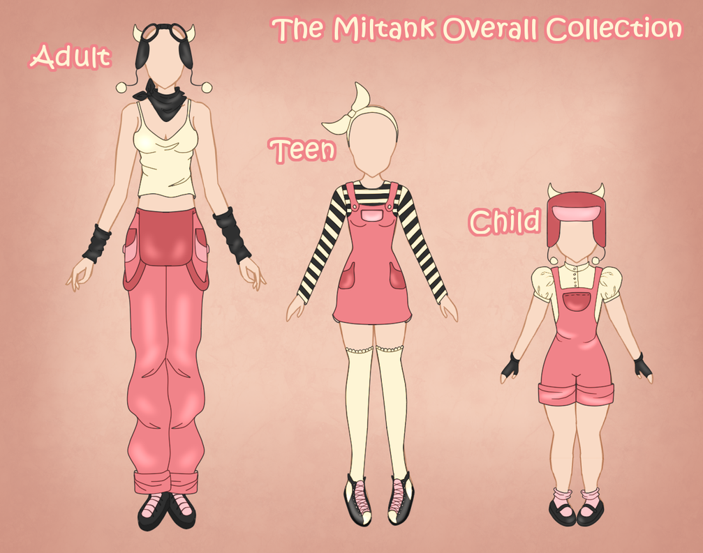 Miltank Collection by abravelamb