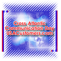 Cross Atlantic Communication Day by usacustomers