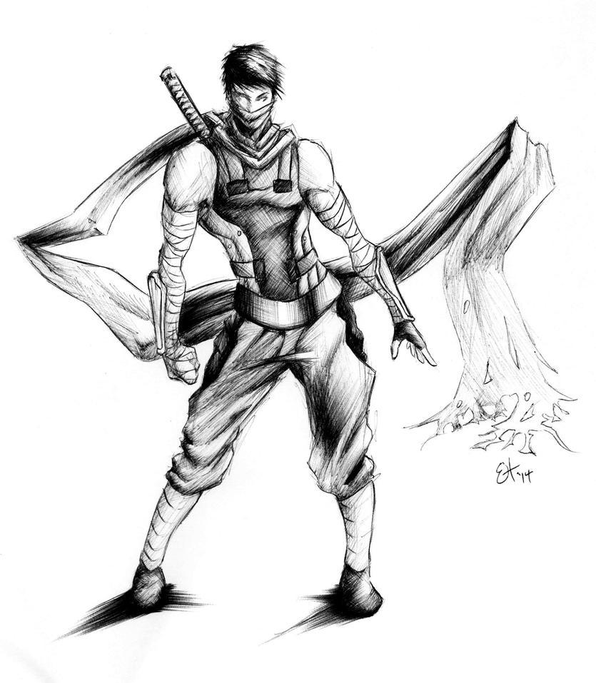 Work Sketches: Sassy Daisuke by EnvyMachinery
