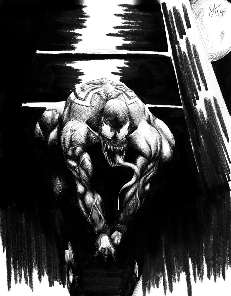 Work Sketches: Venom by EnvyMachinery