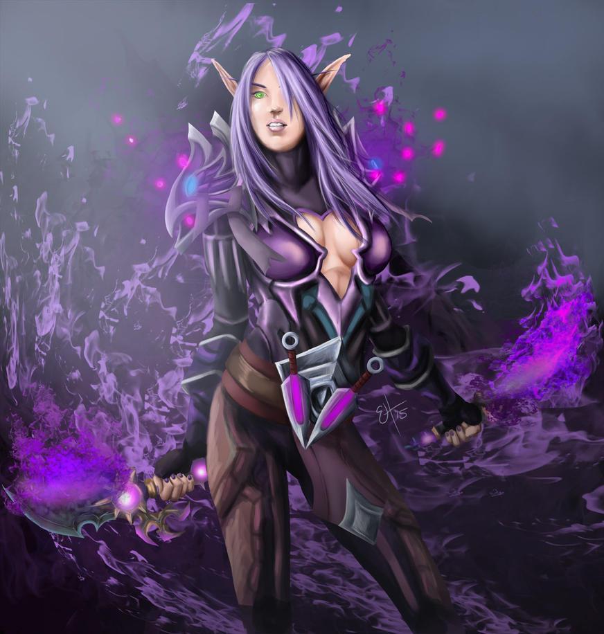 Shadow Dance (Netherblade) by EnvyMachinery