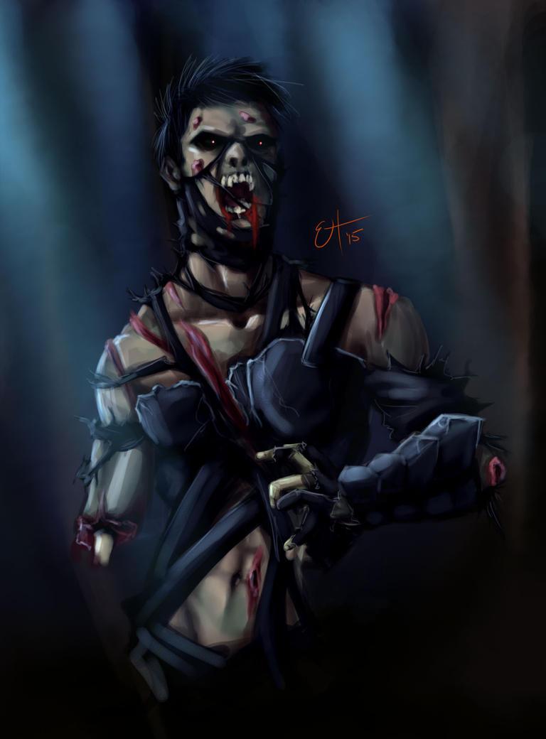Zombie Daisuke by EnvyMachinery