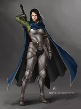 Victoria Plate Armor Concept