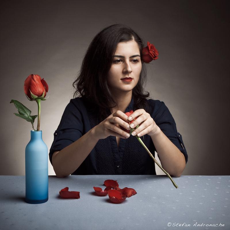 Discontent - A portrait of Leia by StefanAndronache