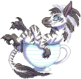 Stripes Teacup by Red-Draws