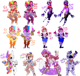 Fnaf character redesigns | 3/??