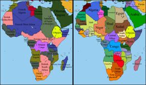 Alternate Africa 1900 - 2017