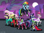 The POWER PONIES... and Hum Drum