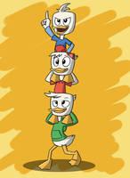 Ducktales - Triplet Tower by JDE10