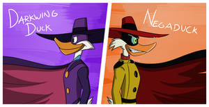 Darkwing and Negaduck
