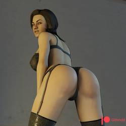 Mass Effect Miranda Lawson [NSFW] by Githmdd