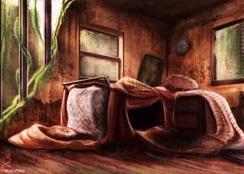 Apartment Den Concept by fang