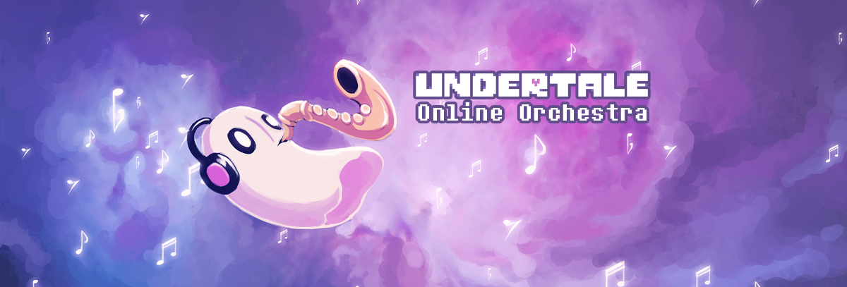 Undertale Online Orchestra Youtube Banner by fang on DeviantArt