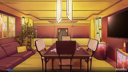 Red vs Blue Mercs: 2nd Floor Lounge