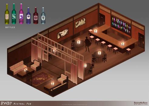 RWBY 4: Mistral Pub