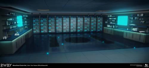 RWBY 7: Server Room Concept Art