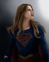 Supergirl by becamaggay