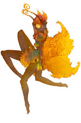Luna Moth - color by gods-among-men