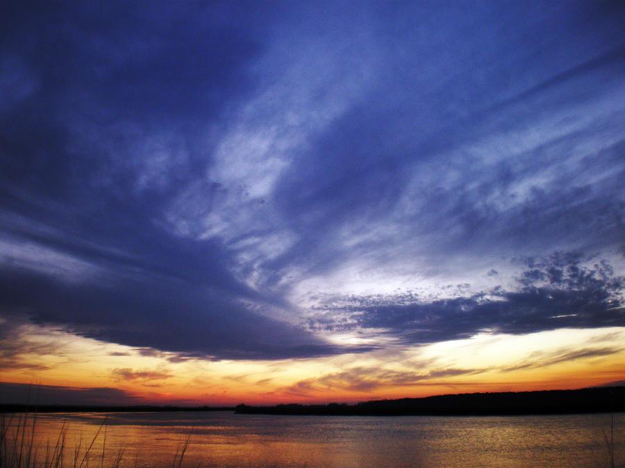 Glorious Sunset on the Coast of South Carolina by winterface