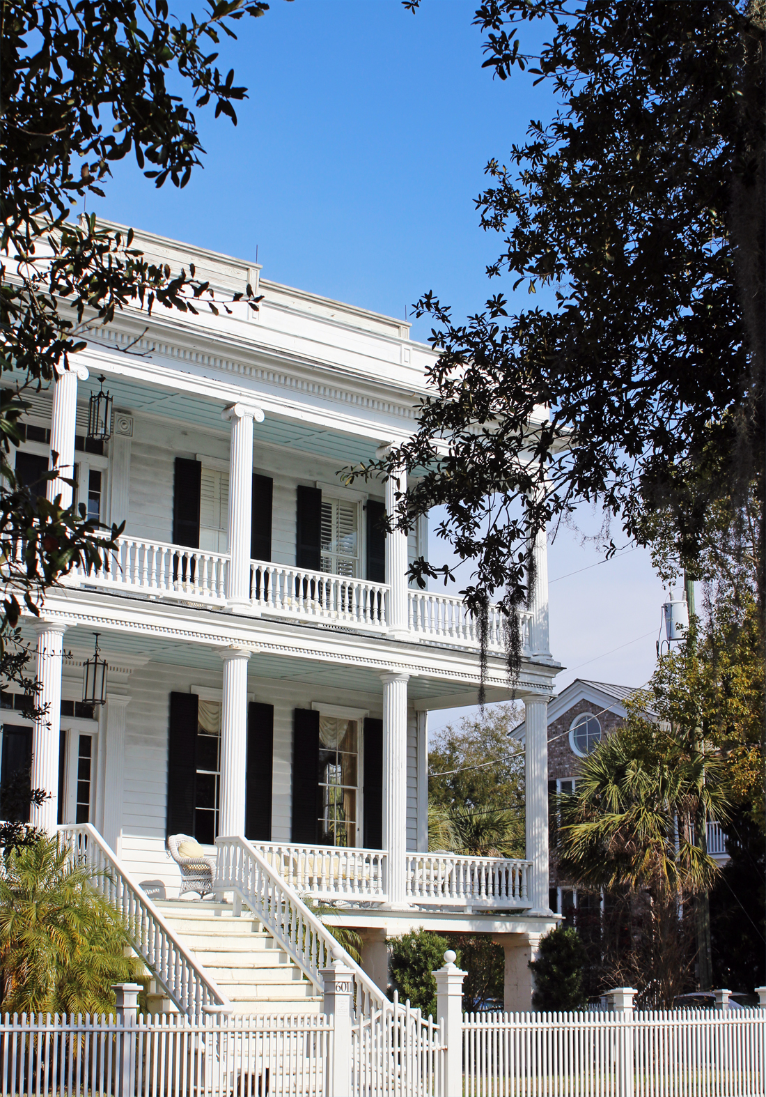 House in downtown beaufort south carolina by winterface for Beaufort sc architects