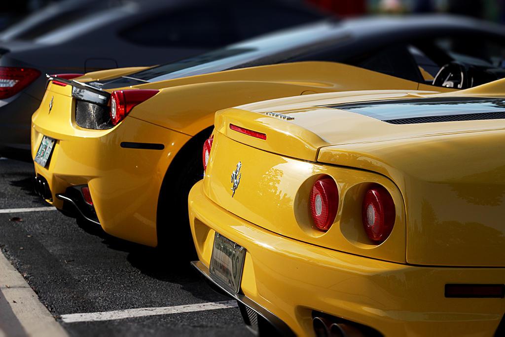 Ferrari Line up by winterface