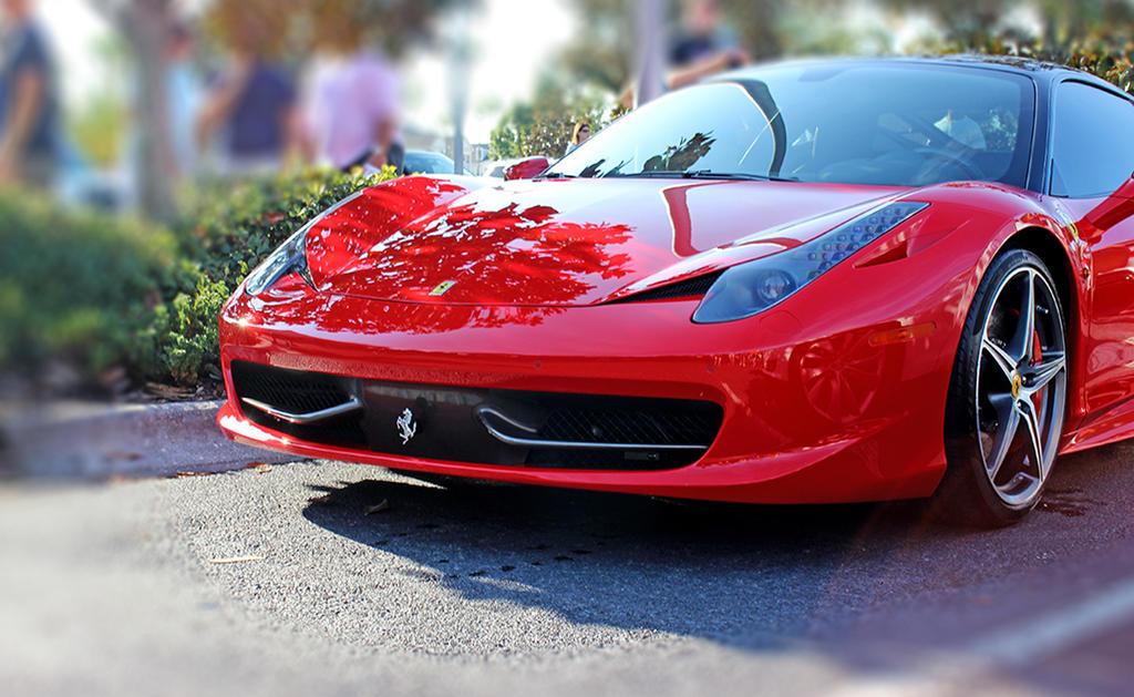 Ferrari 458 by winterface