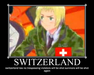 hetalia swizerland poster by emismpunk