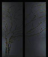 door glass by infiltrati0n
