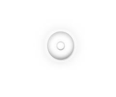 Luminaria redonda branca by infiltrati0n