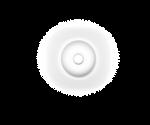 Luminaria redonda branca