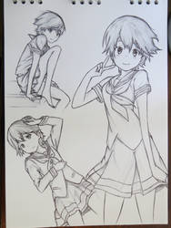 Natsuki Suzuura by TotoCsierra