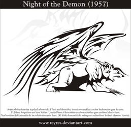 Night of the Demon 1957 by Reyres