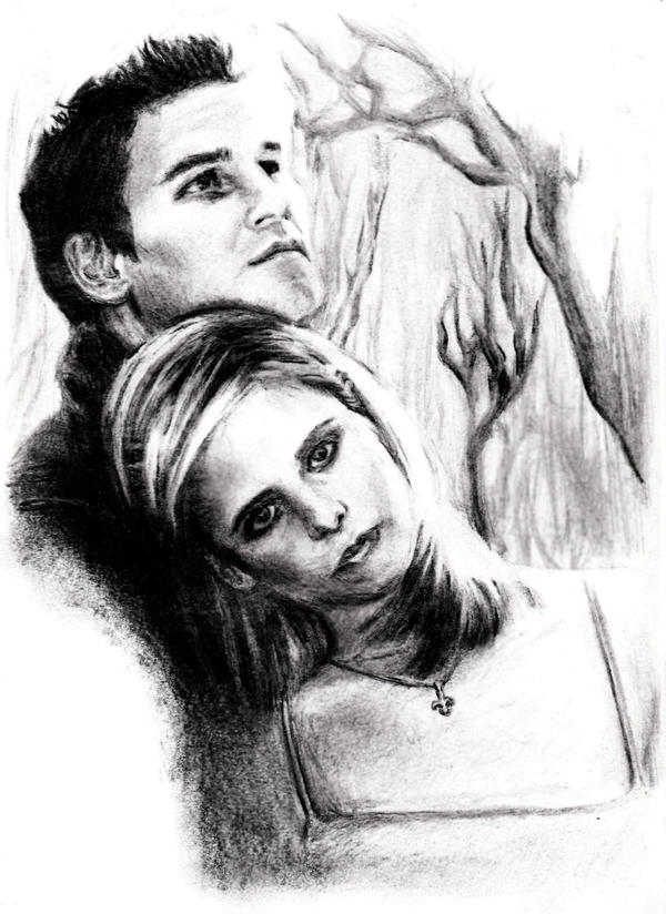 Buffy+Angel by thecheesecake