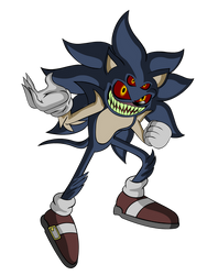 Sonic.exe (Second Form) by Teenage-Brautwurst