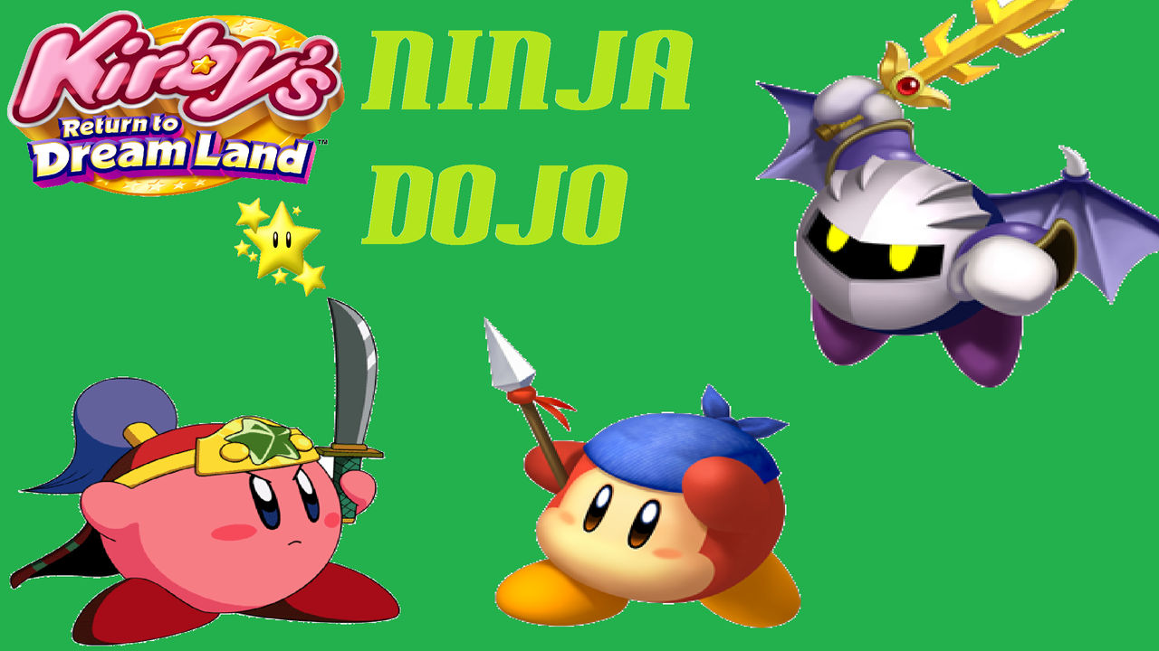Kirby S Return To Dreamland Ninja Dojo Wallpaper By
