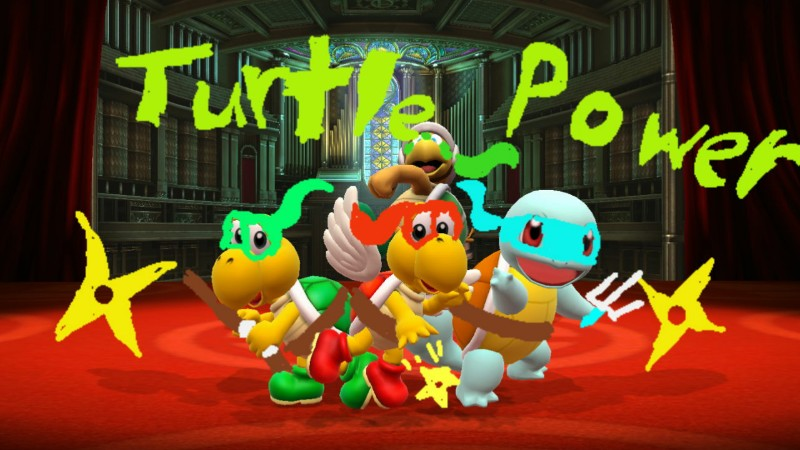 My Teenage Mutant Ninja Koopas Wallpaper by SuperWorld7895