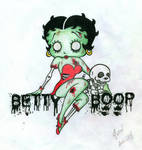 Betty Boop Zombie