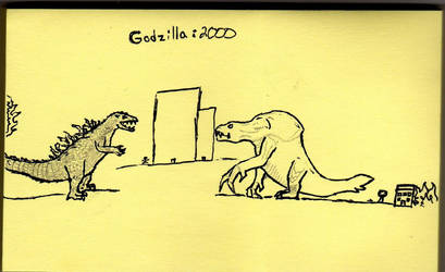 Godzilla 2000 by Godzillakuj94