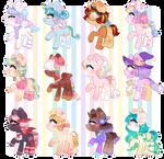 ~ CHIBI Pony Adopts ~ (CLOSED)