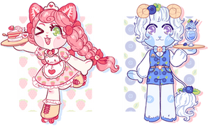 ~ Strawberry and Blueberry ~ adopts (CLOSED)