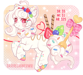 ~Sweetest Dessert~ adopt (OPEN)