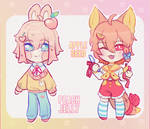 ~peach and apple~ ADOPTS (CLOSED)
