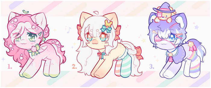 ~Happy Ponies~ adopts (OPEN)