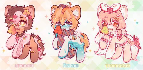 ~Autumn Ponies~ adopts (CLOSED)