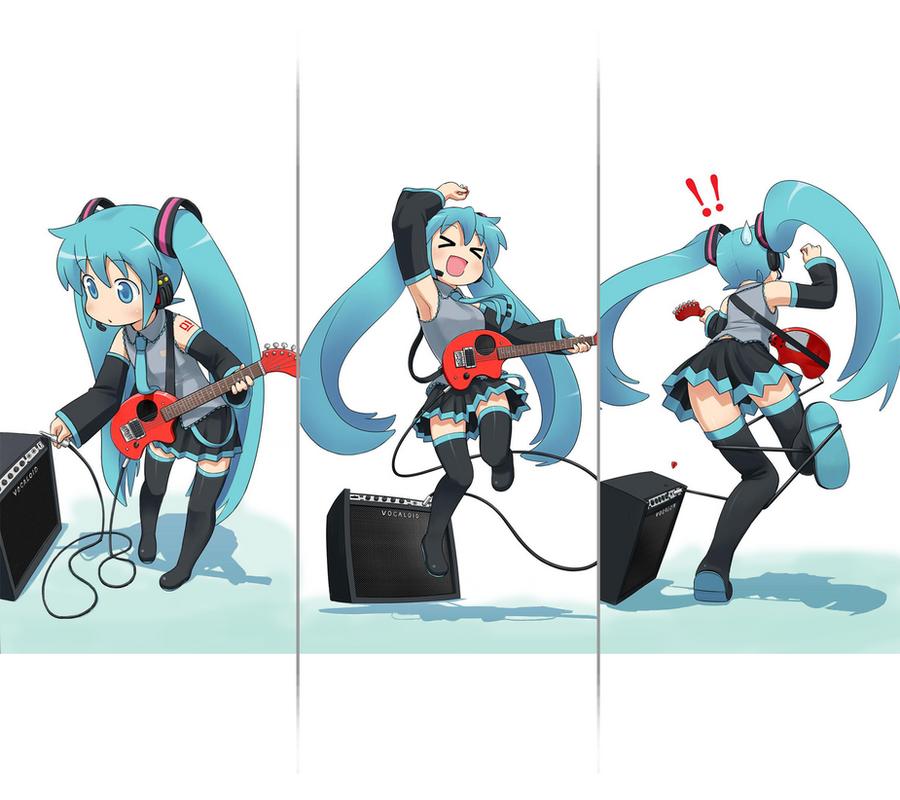 Hatsune Miku Galaxy Nexus Wallpaper By CQS3A