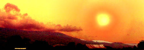 Red Sun Explosion by MATTHEW19000