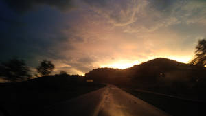 After the storm, Highway